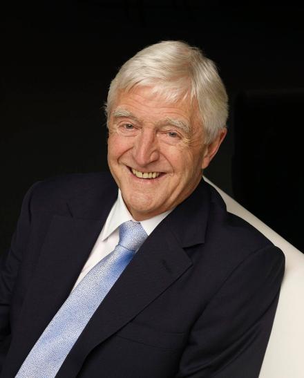 Sir Michael Parkinson. Photo by Richard McLaren.