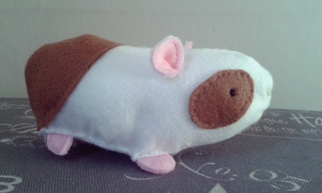 The finished Guinea Pig!