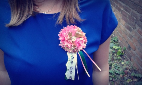 My little corsage!
