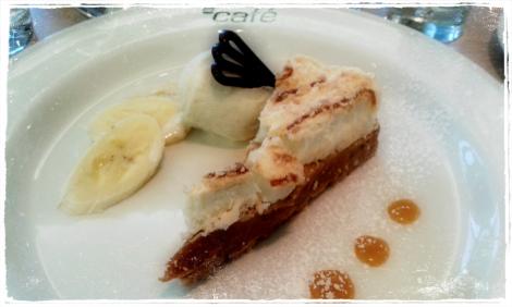 Banoffee pie goodness