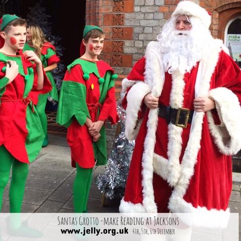 'It's Santa, I know him!'