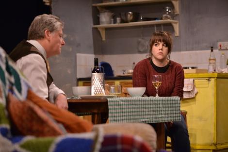 Alan Long as Tom and Sophie Pierce as Kyra. Photos by www.myworldmyeyes.co.uk