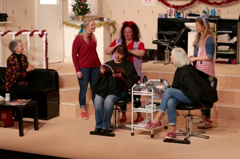Friendships blossom in Truvy's salon