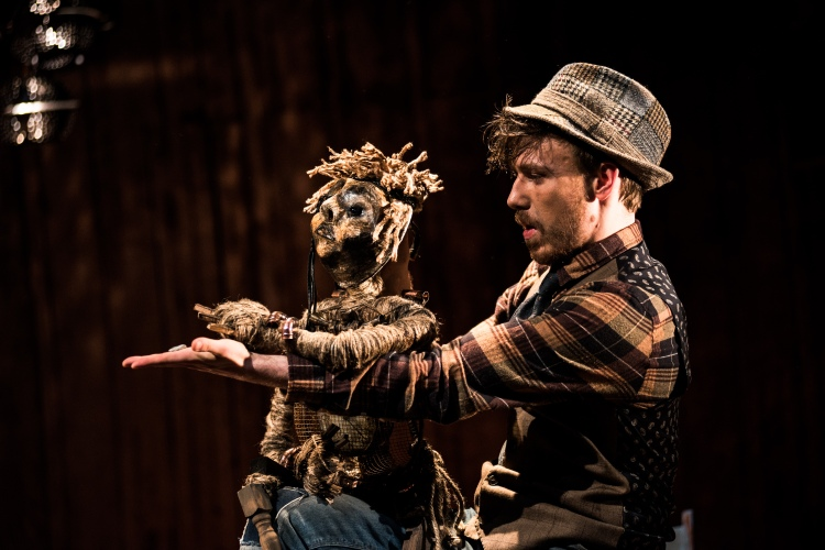 Sam Gannon takes charge of fantastic puppet Stig